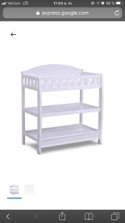 Looking for a a white changing table!