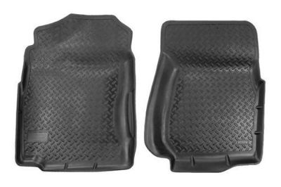 Sell Husky Liners 31401 99-00 Chevy Silverado Black Custom Floor Mats 1st Row motorcycle in Winfield, Kansas, US, for US $91.95