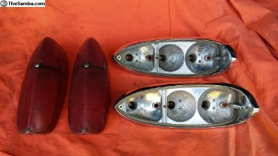 67 Squareback Rear Taillight Set