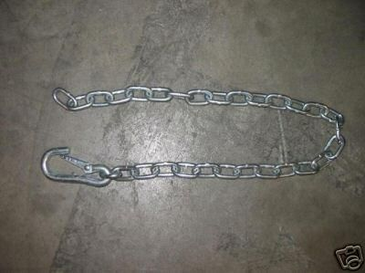 Sell Boat Trailer Safety Chain w/Snap Lock Marine Ski Sail motorcycle in Grain Valley, Missouri, US, for US $5.99