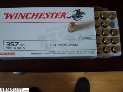 For Sale: 357 Sig Ammo