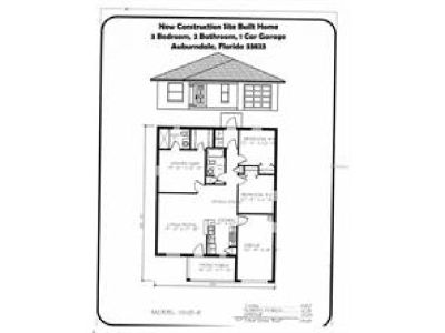 Brand New Site Built, Single Family Home For Sale!!!