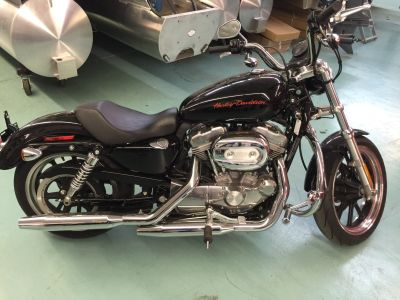 2011 Harley-Davidson Sportster 883 SuperLow Sport Motorcycles Coloma, MI