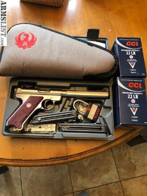 For Sale: Ruger MKIII Competition Target Model 22lr