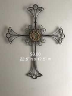 CROSS home decor wall hanging