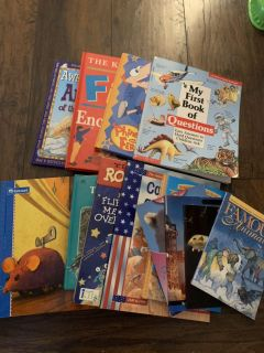 Assortment of educational/facts books