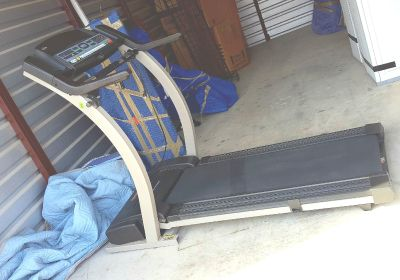 Easy pick-up, in storage, no stairs! Pro-form 750 CS treadmill