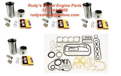Find Liner Kit + Gasket Set Bundle for 92-98 Isuzu NPR 3.9L 4BD2 Turbo diesel engine motorcycle in Adelanto, California, United States, for US $625.00