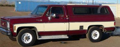 1979 Chevrolet Scottsdale 20 Series Camper Special 20 Model Camper Special (Maroon/Tan)