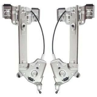 Buy New Pair 2 Pc Set Rear Power Window Lift Regulators 01 02 03 Oldsmobile Aurora motorcycle in Dallas, Texas, United States, for US $38.25