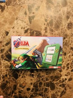 Brand new Nintendo 2DS System with The Legend of Zelda: Ocarina of Time 3D