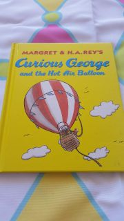 Brand new Curious George and the hot air ballon 8x8 book ($18.00)