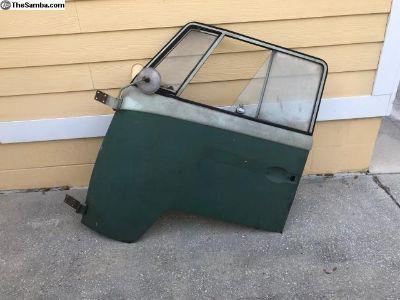 Original Paint Velvet Green Door