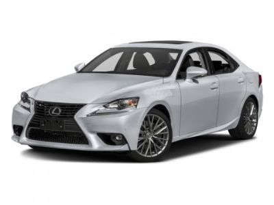 2016 Lexus IS 300 (White Pearl)