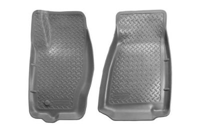 Sell Husky Liners 30612 06-10 Jeep Commander Gray Custom Floor Mats 1st Row motorcycle in Winfield, Kansas, US, for US $91.95