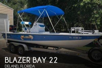 2004 Blazer Bay Bay 2220 Fisherman