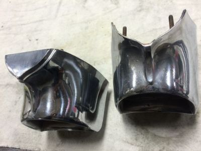Sell 57 CHEVY TAILLIGHT TAIL LIGHT HOUSING PAIR ORIGINAL VERY NICE motorcycle in Fort Worth, Texas, United States, for US $75.00
