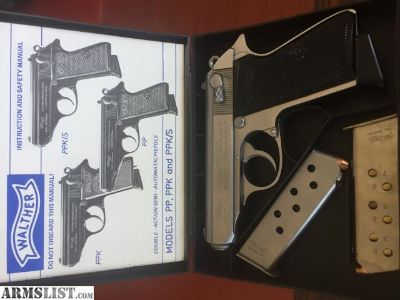 For Sale: Walther PPK PPK/S stainless