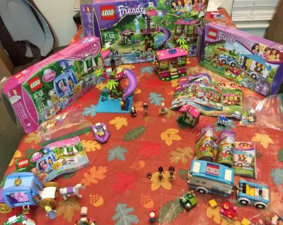 Lego Friends Jungle Rescue Base++More