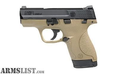 For Sale: S&W M&P9 Shield - FDE frame - In stock