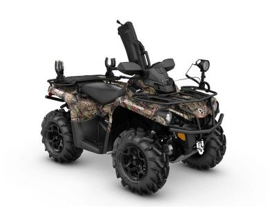 2017 Can-Am Outlander Mossy Oak Hunting Edition 570 Utility ATVs Holdenville, OK