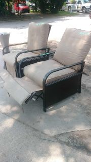 Patio recliners $50/pair or $30 each