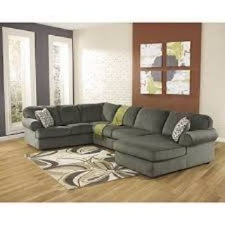 JESSA PLACE PEWTER SECTIONAL