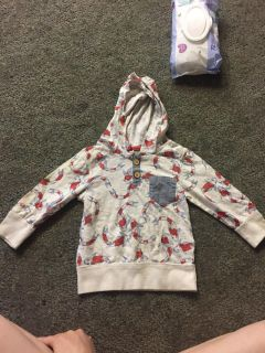 12 month Hooded shirt