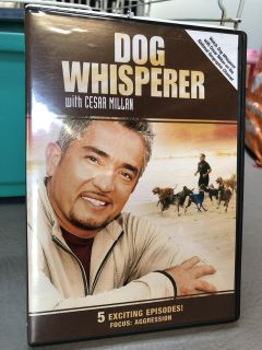 Dog whisperer. DVD new watched once