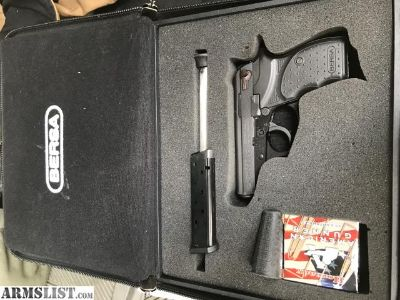 For Sale: BERSA 380 LNIB AMMO EXTRA EXTENDED MAG