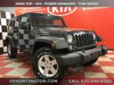 $23480.00 2016 JEEP WRANGLER UNLIMI with 47865 miles!