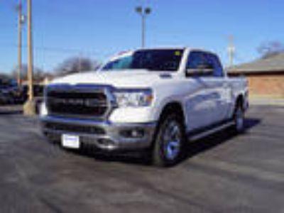 2019 RAM 1500 White, 13 miles