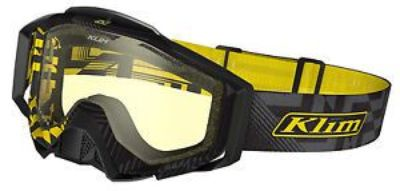 Find Klim Radius Pro Goggle Threat Yellow Tint Lens Snowmobile Snowboard SnoX Ski motorcycle in Longview, Washington, United States, for US $87.99