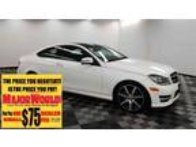 2015 MERCEDES-BENZ C-Class with 25890 miles!