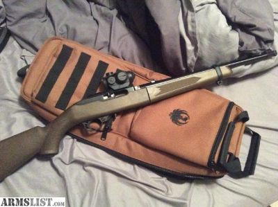 For Sale: Ruger 10/22 takedown with extras new