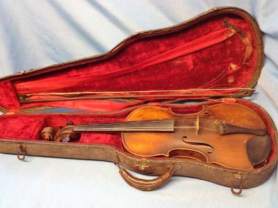 Paul Knorr 1924 Markneukirchen Violin   $2000