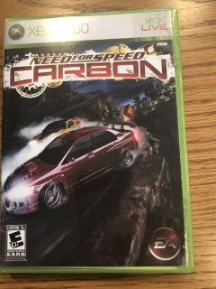 "XBOX 360 ""Need for Speed - Carbon"" Game"