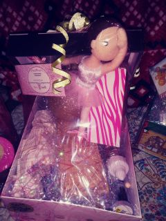 Pink zebra soak its and scented sprinkles gift box