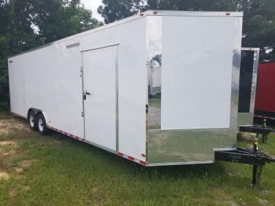 8.5x28ft. Race Ready Enclosed Trailer