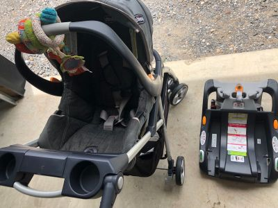 Chicco Keyfit 30 Car Seat, Base, and Stroller
