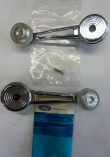 Sell 73-79 Ford truck Bronco NOS inside window crank handles; Extended shank;XLT motorcycle in Tipp City, Ohio, US, for US $80.00