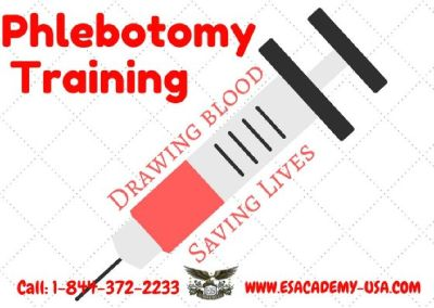 Start A New Beginning with Phlebotomy! Register for a 4-Week Course Today.
