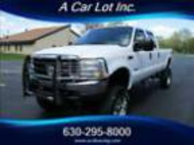 2003 Ford F-350 Super Duty XL 4dr Crew Cab XL 2003 FORD F350 4X4 6.0 DIESEL CREW