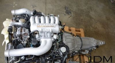 JDM MAZDA 20B-REW 3 ROTOR ENGINE WITH AUTOMATIC TRANSMISSION