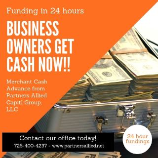 MERCHANT CASH ADVANCE - GET FUNDED IN AS LITTLE AS 24 HOURS