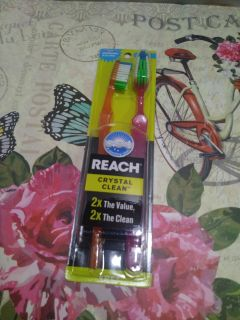 New Reach soft toothbrush 2ct