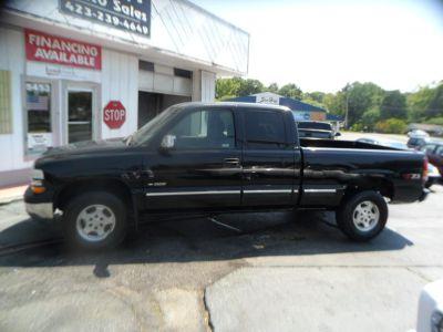 2002 Chevrolet Silverado 1500 Base (black)