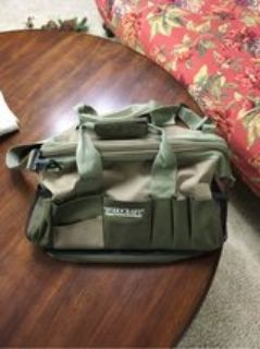 Woodcraft 15 Pocket Canvas Tool Bag