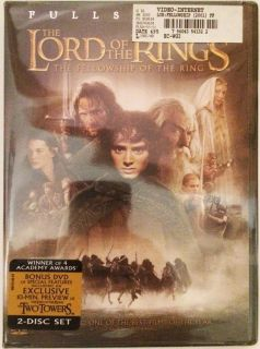 The Lord of the Rings: The Fellowship of the Ring (Two-Disc Edition) Brand New