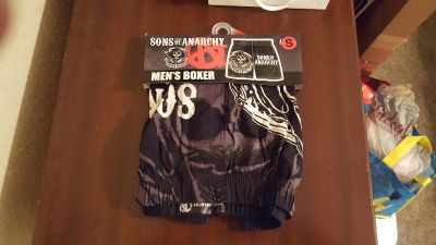 Men's Small Boxers Sons of Anarchy